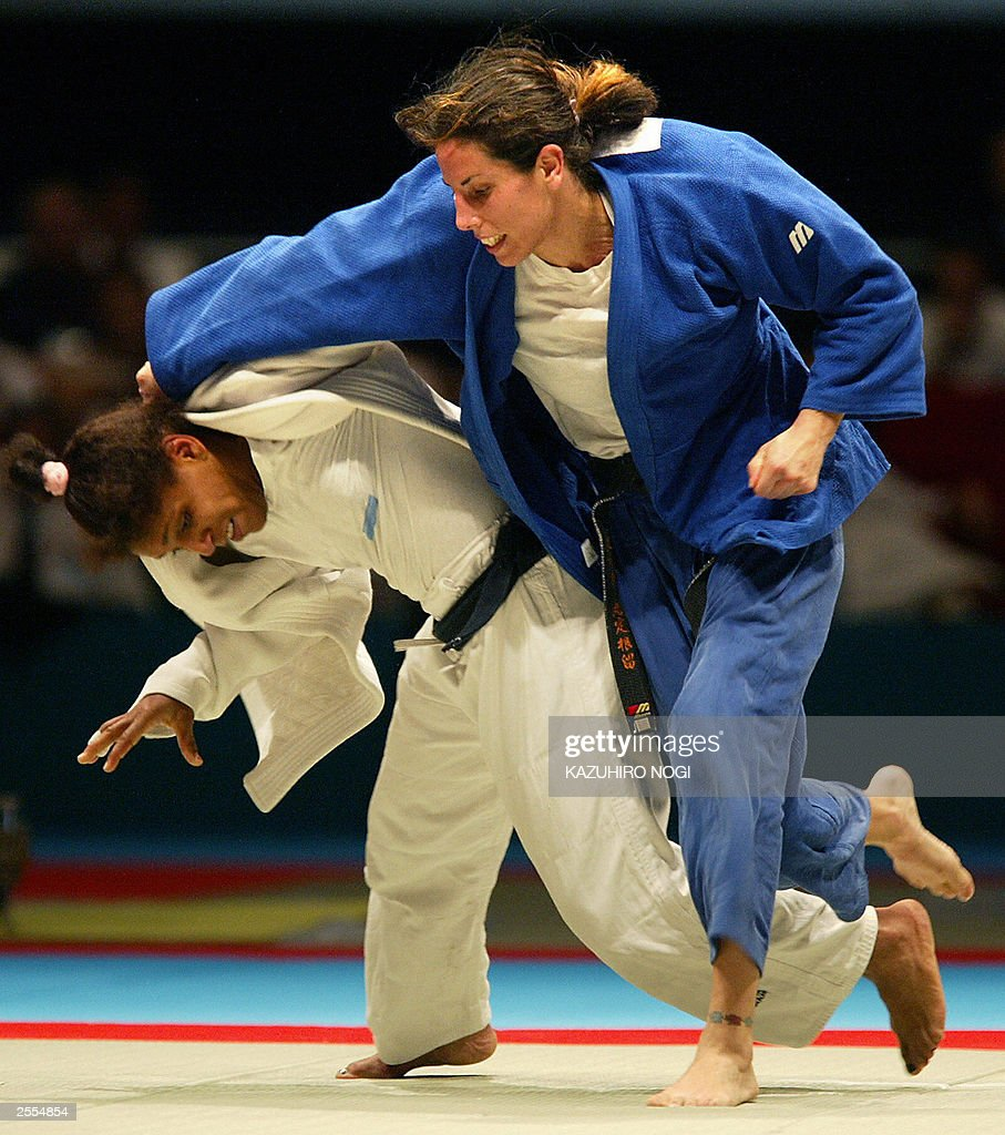 Daniela Krukower World Judo Champion