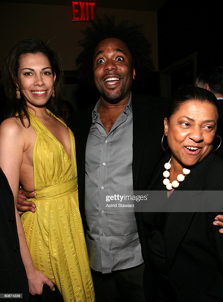 Daniela Lavender, actor Lee Daniels, and actress Kathleen Battle attend the after party for 'Tennessee' hosted by Cadillac at Tenjune lounge during the 2008 Tribeca Film Festival on April 26, 2008 in New York City.
