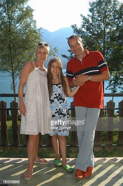 Daniela Lohmeyer Christoph Schobesberger Tochter LeaMaria Schobesberger Urlaub Lago di Ledro/Italien Nähe Gardasee Schauspieler Schauspielerin...