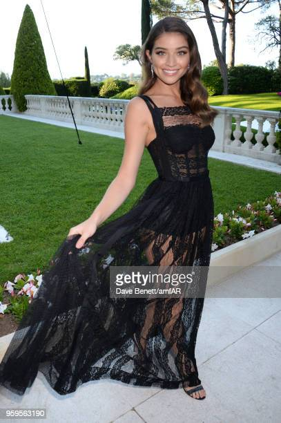 Daniela Lopez arrives at the amfAR Gala Cannes 2018 at Hotel du CapEdenRoc on May 17 2018 in Cap d'Antibes France