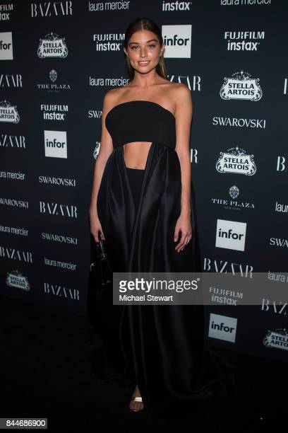 Daniela Lopez Osorio attends 2017 Harper's Bazaar Icons at The Plaza Hotel on September 8 2017 in New York City