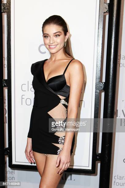 Daniela Lopez Osorio attends Rihanna's 3rd Annual Diamond Ball at Cipriani Wall Street on September 14 2017 in New York City