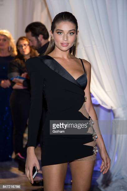 Daniela Lopez Osorio attends the 2017 Diamond Ball at Cipriani Wall Street in Tribeca on September 14 2017 in New York City