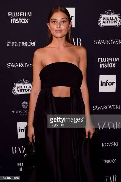 Daniela Lopez Osorio attends the 2017 Harper ICONS party at The Plaza Hotel on September 8 2017 in New York City