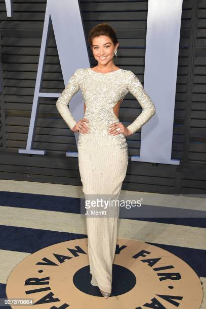 Daniela Lopez Osorio attends the 2018 Vanity Fair Oscar Party hosted by Radhika Jones at the Wallis Annenberg Center for the Performing Arts on March...