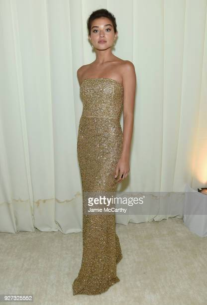 Daniela Lopez Osorio attends the 26th annual Elton John AIDS Foundation Academy Awards Viewing Party sponsored by Bulgari celebrating EJAF and the...