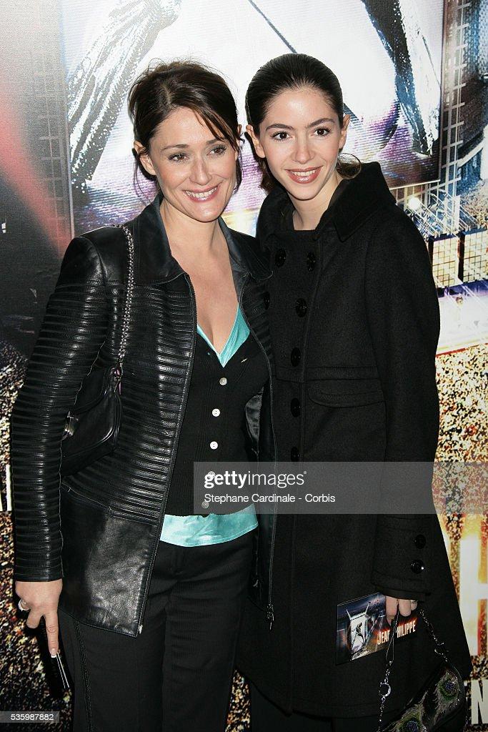 Daniela Lumbroso and Yael Boon attend the premiere of 'Jean-Philippe' in Paris.