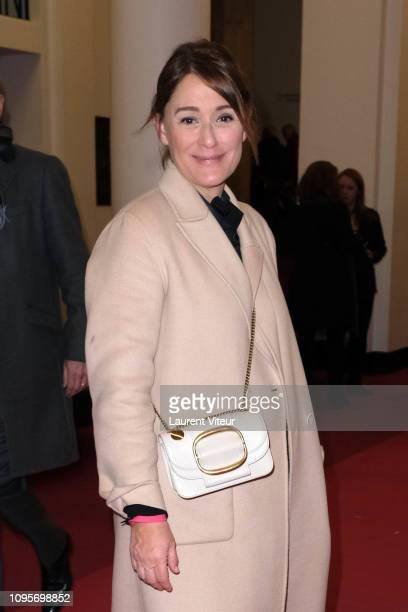 "Daniela Lumbroso attends ""N°5 de Chollet"" at Salle Pleyel on January 17, 2019 in Paris, France."
