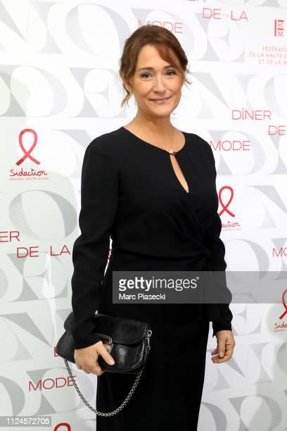 "Daniela Lumbroso attends the 17th ""Diner De La Mode"" as part of Paris Fashion Week on January 24, 2019 in Paris, France."