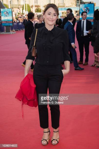 Daniela Lumbroso attends the Galvetston Premiere during the 44th Deauville US Film Festival on September 1 2018 in Deauville France