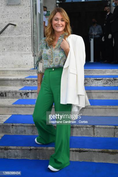 Daniela Lumbroso attends the Opening Ceremony of the 13th Angouleme French-Speaking Film Festival on August 28, 2020 in Angouleme, France.