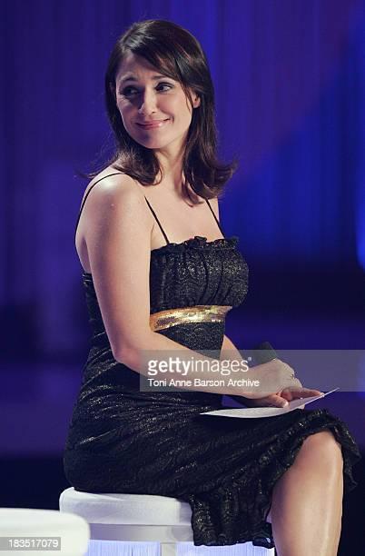 Daniela Lumbroso during La Fete de la Chanson Francaise Taping - January 11, 2006 at Zenith in Paris, France.