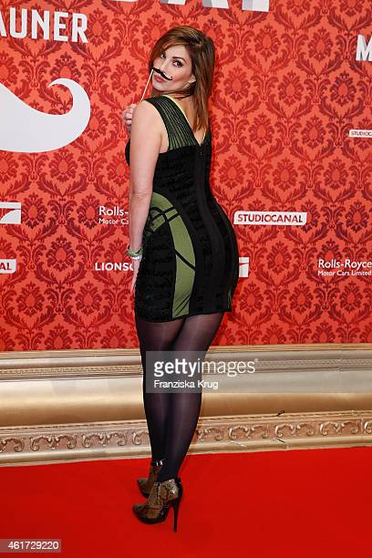 Daniela Michalski attends the world premiere of the film 'Mortdecai Der Teilzeitgauner' at Zoo Palast on January 18 2015 in Berlin Germany