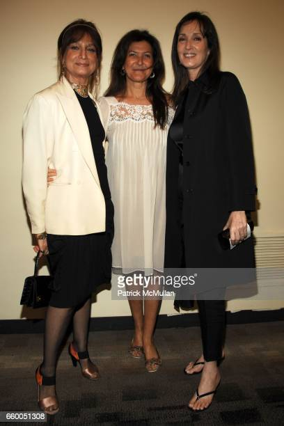 Daniela Morera Nessia Pope and Isabel Rattazzi attend WELCOME TO GULU EXHIBITION AND BENEFIT ART SALE ANTIHUMAN TRAFFICKING INNITIATIVE at The United...