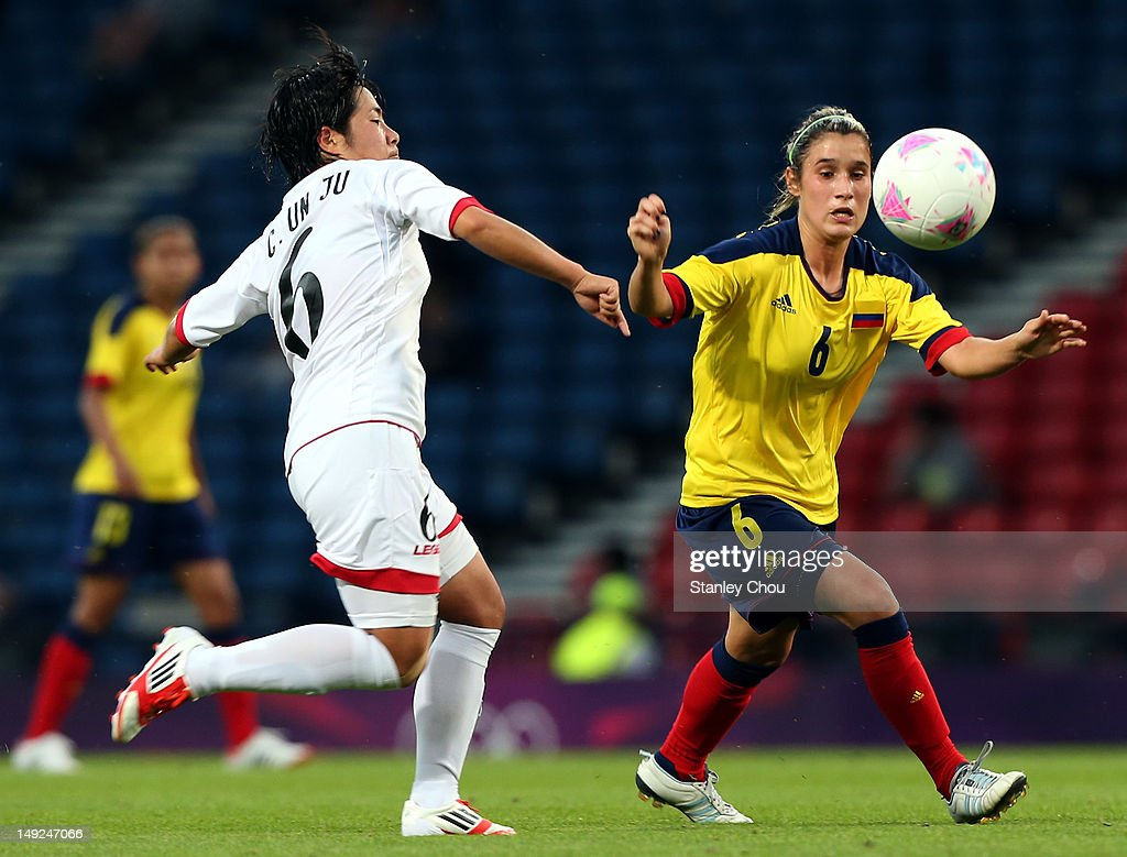 Olympics Day -2 - Women's Football - Colombia v Korea DPR : Nachrichtenfoto