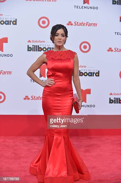 Daniela Navarro arrives at Billboard Latin Music Awards 2013 at Bank United Center on April 25 2013 in Miami Florida