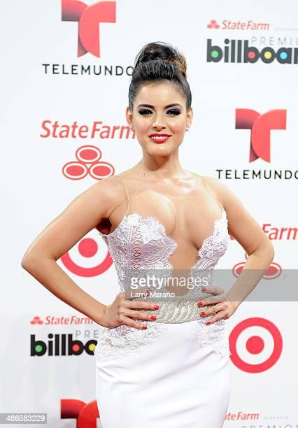 Daniela Navarro attends the 2014 Billboard Latin Music Awards at Bank United Center on April 24 2014 in Miami Florida