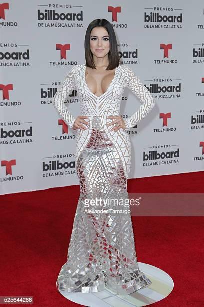 Daniela Navarro attends the Billboard Latin Music Awards at Bank United Center on April 28 2016 in Miami Florida