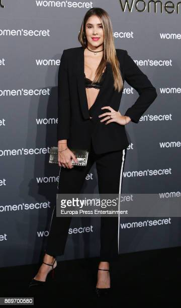 Daniela Ospina attends the event Women'Secret Night to present the campaign Wanted on November 2 2017 in Madrid Spain