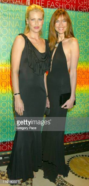 Daniela Pestova and Carol Alt during Fashion Group International Presents The 19th Annual Night Of The Stars Honoring 'The Provocateurs Those Who...