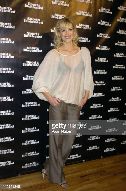 Daniela Pestova during 2004 Sports Illustrated Swimsuit Issue 40th Anniversary Edition at Club Deep in New York City New York United States