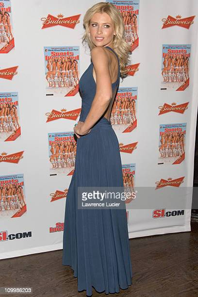 Daniela Pestova during 2006 Sports Illustrated Swimsuit Issue Press Conference at Crobar in New York City New York United States
