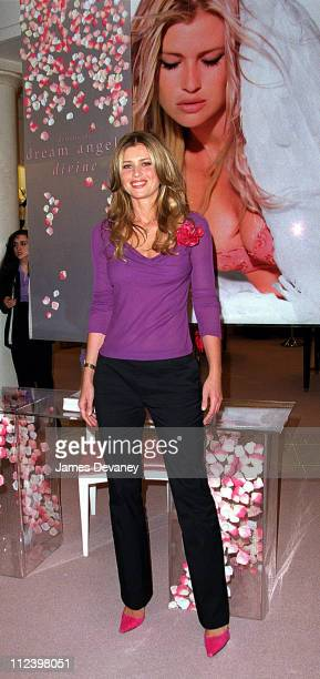 Daniela Pestova during Daniela Pestova at Victoria's Secret Men's Shopping Night at Victoria's Secret Midtown Manhattan in New York City New York...