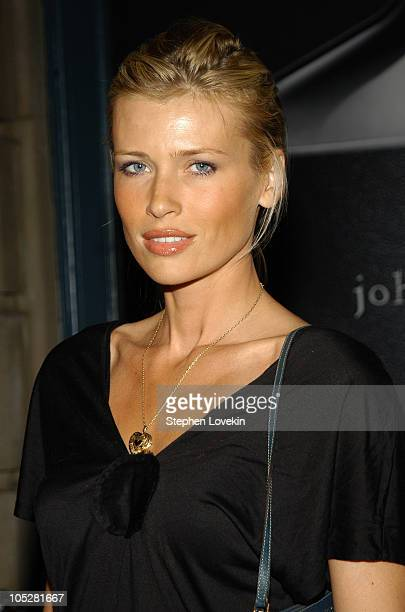Daniela Pestova during John Varvatos Fragrance Launch Inside Party and Arrivals at The Canal Room in New York City New York United States