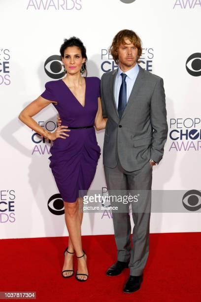 Daniela Rua and Eric Christian Olsen arrive at the 41st People's Choice Awards in Los Angeles, USA, 07 January 2015. Photo: Hubert Boesl-...