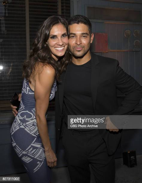 Daniela Ruah and Wilmer Valderrama at the CBS Summer soirée for the annual TCA press tour held on August 1 2017 in Los Angeles CA