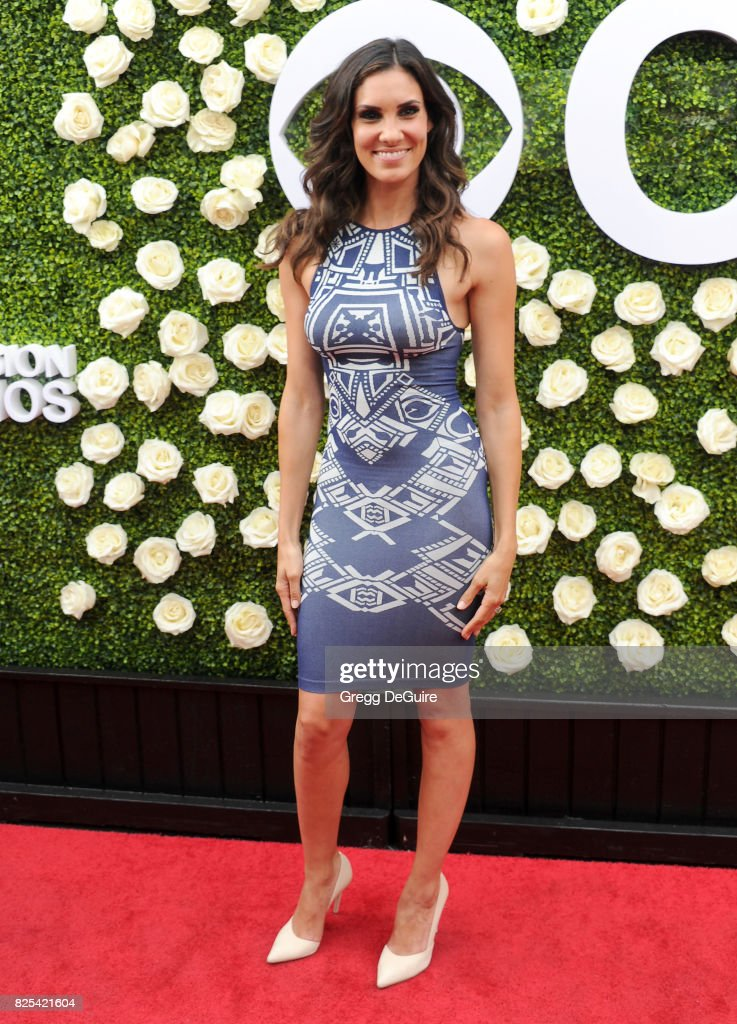 Daniela Ruah arrives at the 2017 Summer TCA Tour - CBS Television Studios' Summer Soiree at CBS Studios - Radford on August 1, 2017 in Studio City, California.