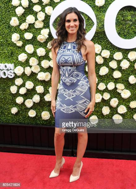 Daniela Ruah arrives at the 2017 Summer TCA Tour CBS Television Studios' Summer Soiree at CBS Studios Radford on August 1 2017 in Studio City...