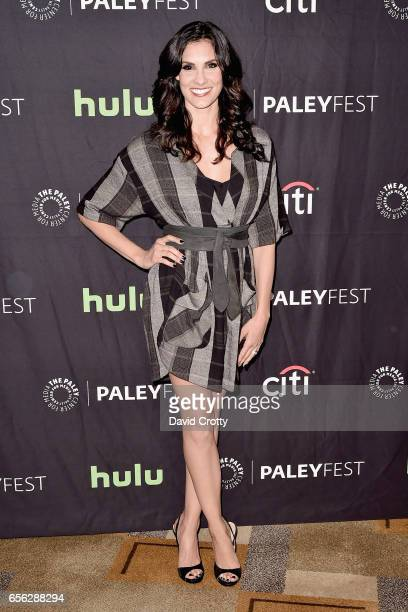 Daniela Ruah attends PaleyFest Los Angeles 2017 'NCIS Los Angeles' at Dolby Theatre on March 21 2017 in Hollywood California