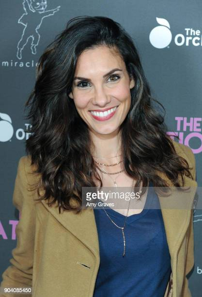 Daniela Ruah attends 'The Relationtrip' Los Angeles Premiere on January 11 2018 in Los Angeles California