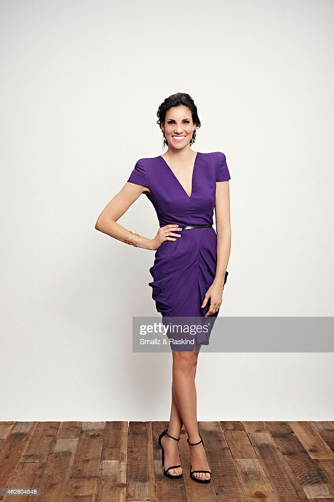 Daniela Ruah poses during the The 41st Annual People's Choice Awards at Nokia Theatre LA Live on January 7, 2015 in Los Angeles, California..