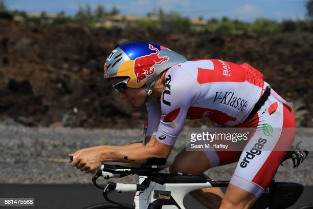 Daniela Ryf of Switzerland competes during the IRONMAN World Championship on October 14 2017 in Kailua Kona Hawaii