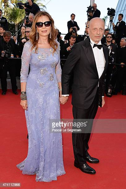 Daniela Santanche and Alessandro Sallusti attend the Premiere of 'Youth' during the 68th annual Cannes Film Festival on May 20 2015 in Cannes France