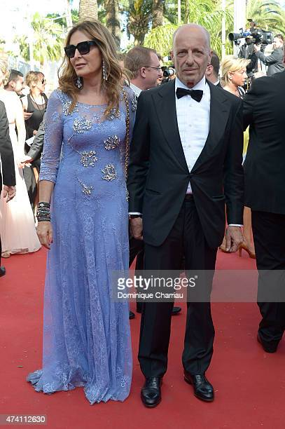 Daniela Santanche and Alessandro Sallusti attend the 'Youth' Premiere during the 68th annual Cannes Film Festival on May 20 2015 in Cannes France