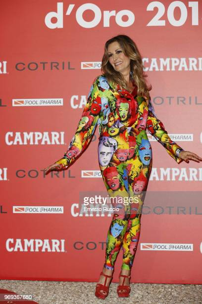 Daniela Santanche arrives at the Ciak D'Oro Awards Ceremony at Link Campus University on June 7 2018 in Rome Italy