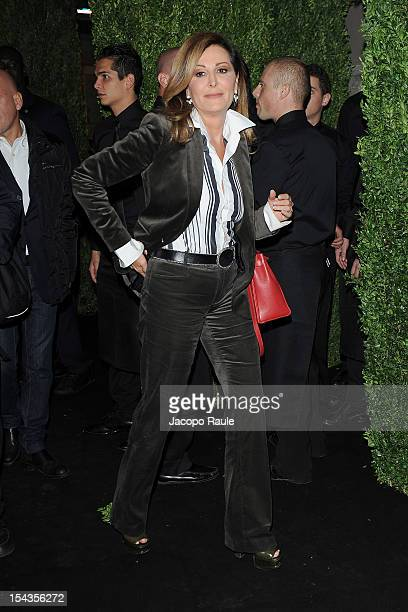 Daniela Santanche attends Chopard Store Opening on October 18 2012 in Milan Italy