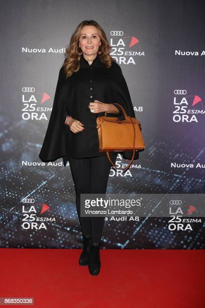 Daniela Santanche' attends the 'La 25esima Ora New Audi A8 Launch' at Unicredit Pavilion on October 30 2017 in Milan Italy