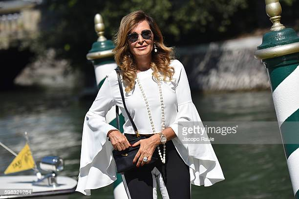Daniela Santanche is seen during the 73rd Venice Film Festival on September 1 2016 in Venice Italy