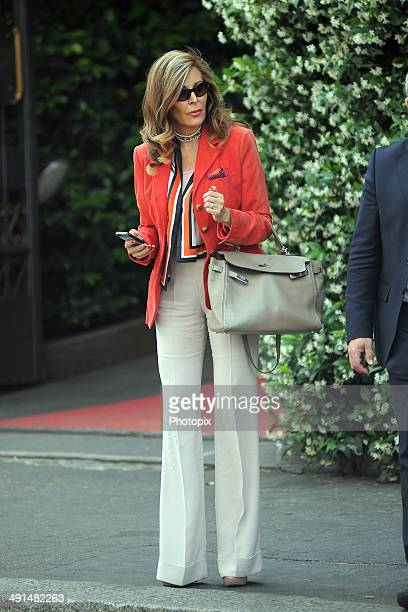 Daniela Santanche is seen on May 16 2014 in Milan Italy