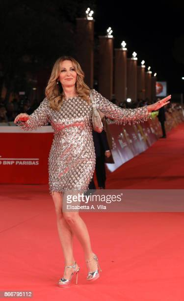 Daniela Santanche walks a red carpet for Hostiles during the 12th Rome Film Fest at Auditorium Parco Della Musica on October 26 2017 in Rome Italy