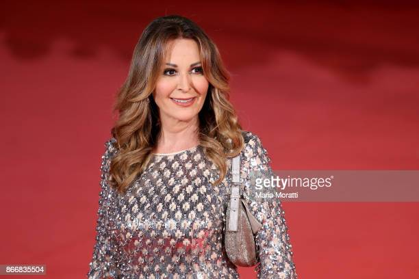 Daniela Santanche walks a red carpet for 'Hostiles' during the 12th Rome Film Fest at Auditorium Parco Della Musica on October 26 2017 in Rome Italy