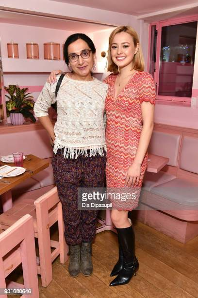 Daniela Simba and Eileen Kelly attend the Trans Awareness Dinner at Pietro Nolita on March 13 2018 in New York City