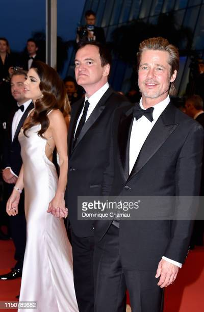 Daniela Tarantino Quentin Tarantino and Brad Pitt depart the screening of Once Upon A Time In Hollywood during the 72nd annual Cannes Film Festival...