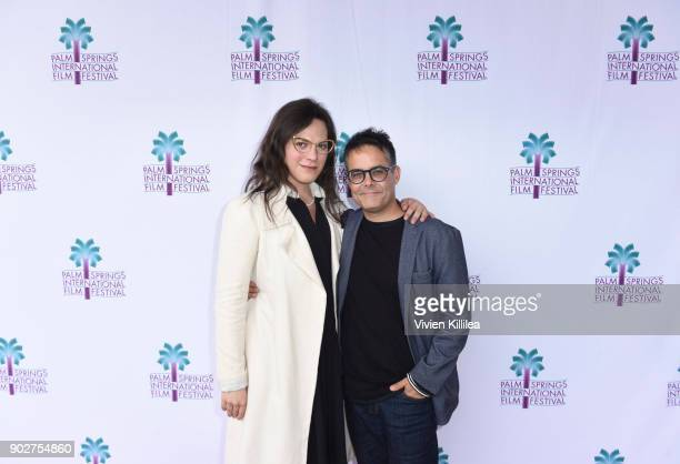 Daniela Vega and Sebastian Lelio attend the 29th Annual Palm Springs International Film Festival Monday Film Screenings on January 8 2018 in Palm...