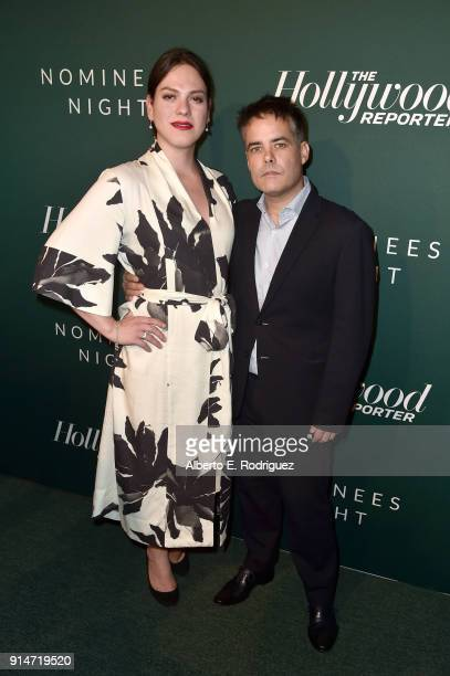 Daniela Vega and Sebastian Lelio attend The Hollywood Reporter 6th Annual Nominees Night at CUT on February 5 2018 in Beverly Hills California