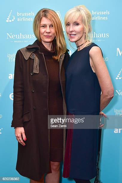 Daniela Zahradnikova and Lori Cuisinier attend MvVO ART Presents for the First Time in New York from Brussels The Accessible Art Fair New York...